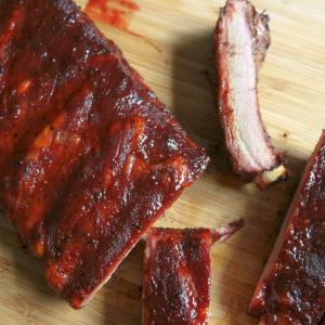 19 Smoked BBQ Pork Ribs